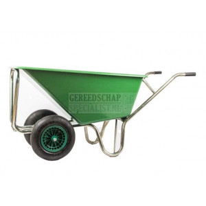 Kruiwagen 160 liter 2 wielen