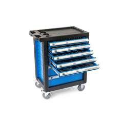 HBM 196-delige PREMIUM gereedschapswagen blauw