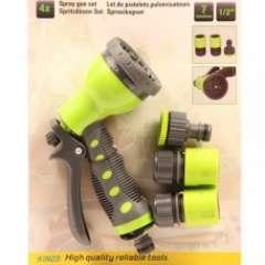 Tuinslangkoppelingen met handsproeier