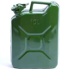 Jerrycan 10 liter (metaal)