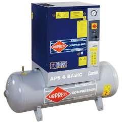 AIRPRESS 400V schroefcompressor combi APS 4 basic