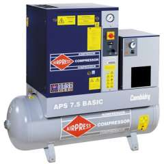 AIRPRESS 400V schroefcompressor combi dry APS7.5 basic