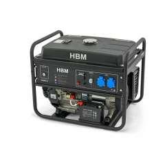 HBM aggregaat 5500 Watt. met 420cc OHV-benzinemotor
