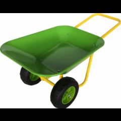 Kinderkruiwagen met dubbel wiel