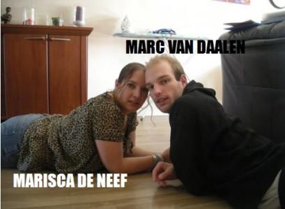Marc van Daalen en Marisca de Neef